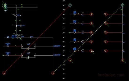 Команда - Показать линии связи