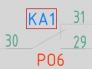 Переназначение позиционных обозначений компонентов