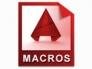 Автоматизация работы в AutoCAD при помощи макросов