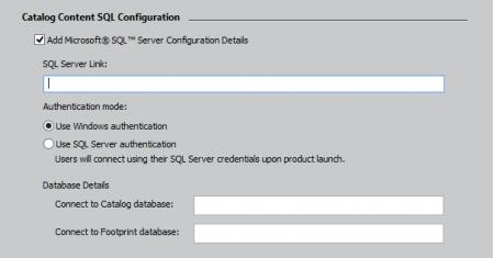 Подключение к SQL-серверу в режиме Развертывания