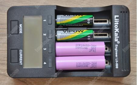 Зарядка различных аккумуляторов