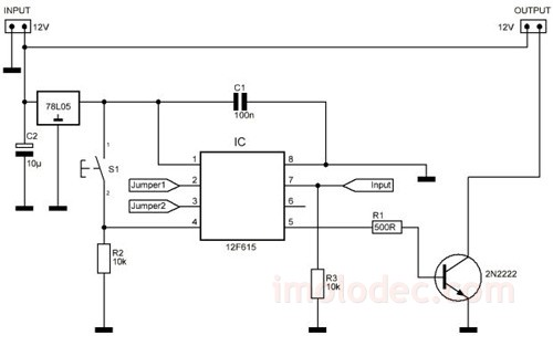 Схема диммера для светодиодной