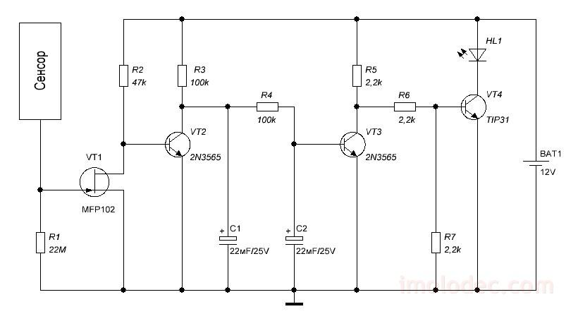 Сенсорные выключатели света DeLUMO - беспроводное ...