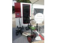 Скутер MUV-e и концепт станции проката MUVe-n-Go