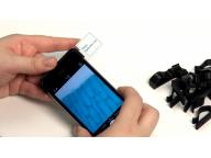 Использование микроскопа в сфере образования, на фото - луковая кожура