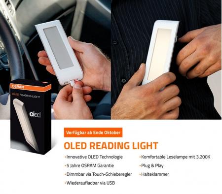OLED-cветильник Osram поставляется с пятилетней гарантией