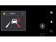 Камера в зеркале способна анализировать информацию о впереди едущих автомобилях и предупреждать водителя в случае опасности