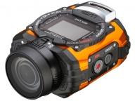 Водонепроницаемая, ударопрочная, и морозоустойчивая экшн-камера Ricoh WG-M1