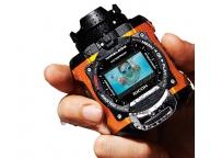 Корпус Ricoh WG-M1 сохраняет водонепроницаемость до глубины 10 метров