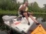Лодка на солнечной батарее