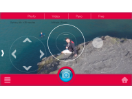 Свободный режим полета обеспечивает более точное управление за счет использования виртуального джойстика