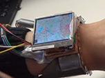 Прототип SmartWatch управляемые одной рукой