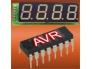 Вольтметр на микроконтроллере AVR на 6 каналов измерения напряжения